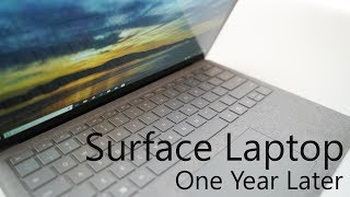 Surface Laptop - One Year Later
