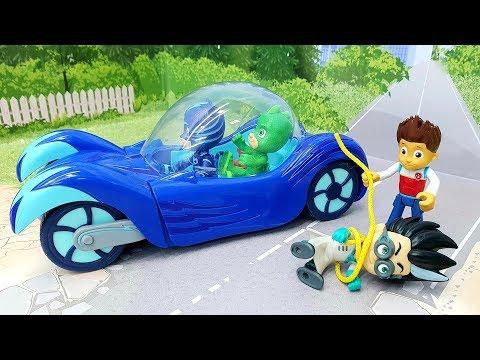 Мультики с игрушками Щенячий патруль Герои в масках - Робот! Новые игрушечные мультфильмы для детей! видео