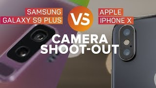 Galaxy S9 Plus vs. iPhone X: The cameras battle it out