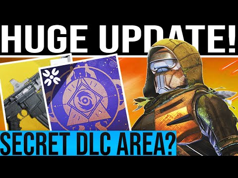 Destiny 2 Shadowkeep. NEWS UPDATE & SECRET DLC AREA DISCOVERED!