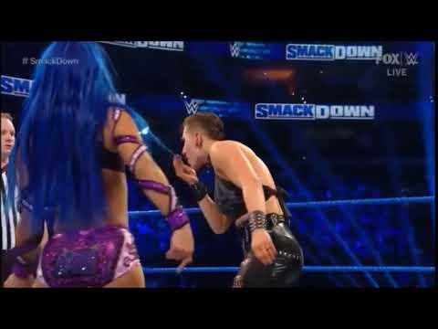 Sasha Banks Slaps Rhea Ripley