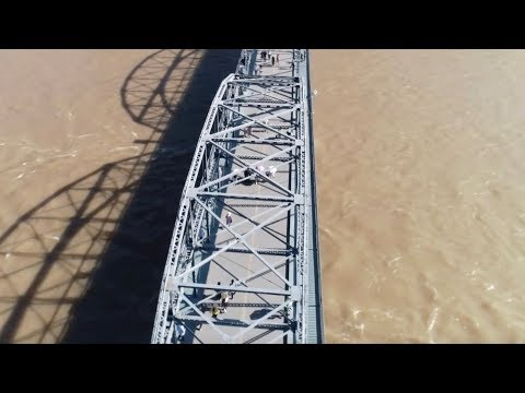 President Xi inspects the Yellow River Regulation Project