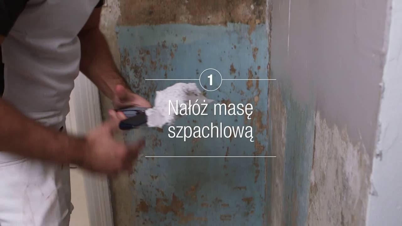 Porady Flügger - Szpachlowanie całopowierzchniowe tynku i betonu