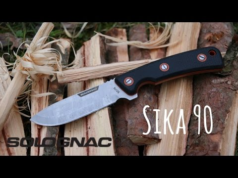 Coltello SOLOGNAC Sika 90 - Test & Review - ESCLUSIVA!!!