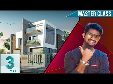 Create Elevation in 3ds max Complete tutorial (HINDI) || Tutomator || Praveer Das || Coupon