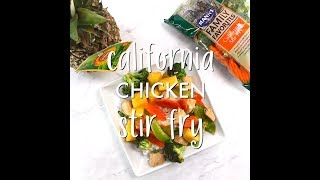 California Chicken Stir Fry