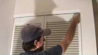 Adjusting a bi-fold door