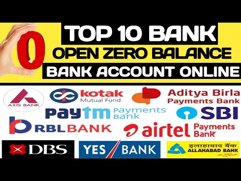 Zero Balance Account Federal Bank How To Open Zero Balance Account