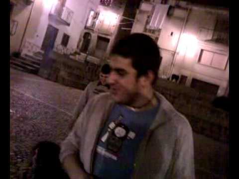 falò notte di natale in piazza