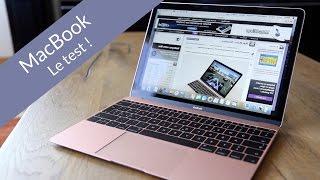 MacBook (OR ROSE !) 2016 : Le Test !