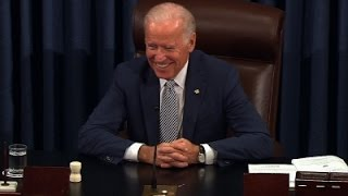 Senate Pays Tribute to Vice President Biden