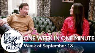 One Week in One Minute: Week of September 18