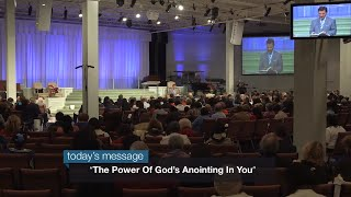The Power of God's Anointing in You