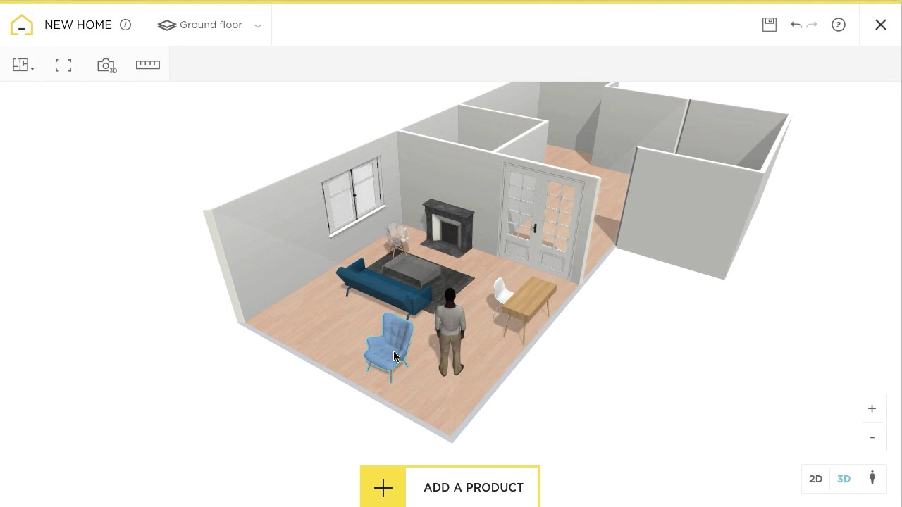 Free Online Floor Plan | Free And Online 3d Home Design Planner Homebyme