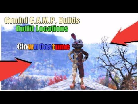 Fallout 76,Clown Costume Location - смотреть онлайн на Hah Life