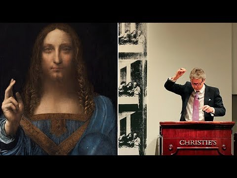 How does the Salvator Mundi compare to the most expensive artwork ever sold?