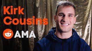 Washington Quarterback, Kirk Cousins: Ask Me Anything!