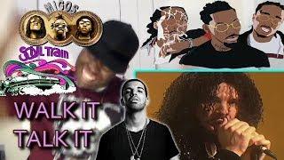 Migos - Walk It Talk It ft. Drake REACTION!!!