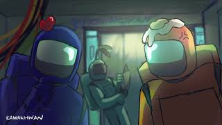Among Us - Short Animation - S T O P