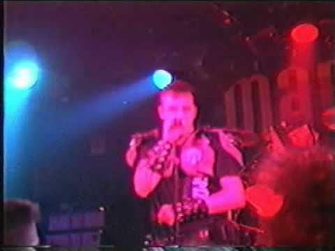 SPIZZENERGI WHERE'S CAPTAIN KIRK? 1986 Live - www.spizz.eu