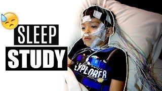 MY 5 YEAR OLD HAD  A SLEEP STUDY  | Mel and Shane