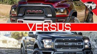 2017 RAM REBEL TRX VS 2017 FORD RAPTOR