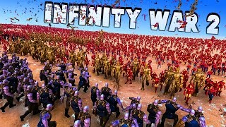 Infinity War 2 - 300 Thanos' From All Universes vs 10000 Avengers - Ultimate Epic Battle Simulator