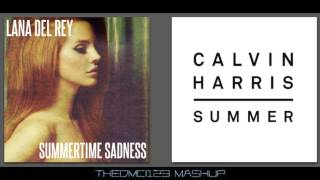 Lana Del Rey vs Calvin Harris - Summer Sadness (Mashup)