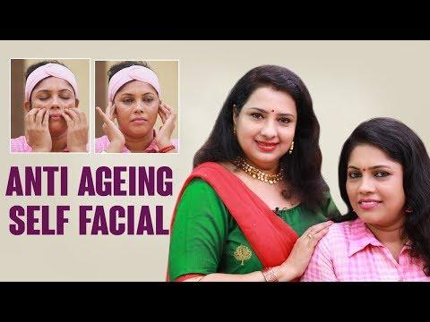 Simple Anti-Aging Self Massage | proper strokes |Vasunthara tips