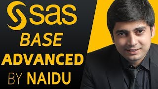 Online SAS Training – SAS BASE & SAS ADVANCED Course Training by Naidu