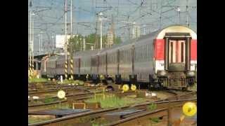 preview picture of video 'ZSSK 363 146 - 2 [R 611 Považan] arriving at Žilina train station'