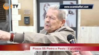 preview picture of video 'Vox Populi - Piazza SS Pietro e Paolo Cisterna di Latina - ScambiAffari'
