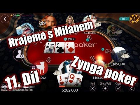 #11 | Zynga Poker - Texas Holdem | _KKND_ zase hrajeme 1.část stolu| [HD]