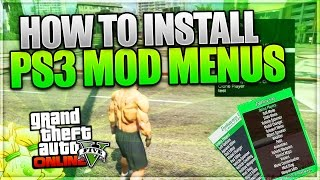 "GTA 5 Online: Mod Menu USB Install Tutorial! PS3 OFW ""NO JAILBREAK"" 1.34/1.28 (GTA V MODDED)"