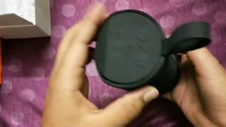 TG 113 Bluetooth speaker unboxing and quick review (Black color)
