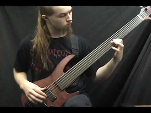 Obscura Anticosmic Overload On Bass Guitar Mp3