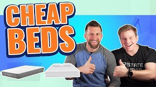 Best Cheap Memory Foam Mattress (TOP 3 BUDGET BEDS)