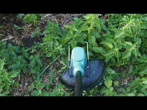 Обзор: аккумуляторный триммер Bosch EasyGrassCut 18-26 -