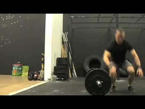 Lateral burpee