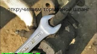 Ремонт заднего тормозного суппорта на Фольксваген Пассат Б4/VW Passat B4