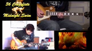 36 Crazyfists - Midnight Swim (Lead Guitar Cover HD)