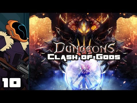Let's Play Dungeons 3: Clash of Gods DLC - PC Gameplay Part 10 - The Donkey Can Wait! (видео)