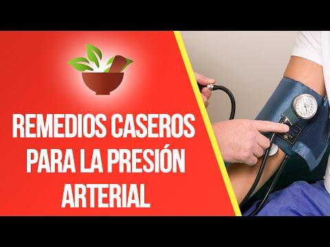 Hipertension arterial tratamientos caseros