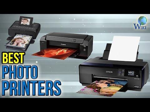 8 Best Photo Printers 2017
