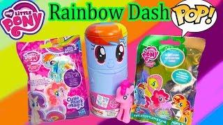 MLP My Little Pony Rainbow Dash Tin-Tastic Funko Pop Vinyl Blind Bags Figures Happy Cookieswirlc
