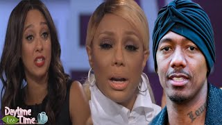 Tamar Braxton RESPONDS about Tamera Mowry leaving The Real, speaking the TRUTH + Nick Cannon & MORE!