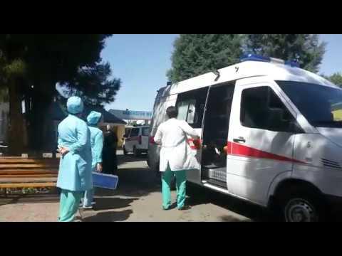 Больница скорой помощи  Таджикистан Душанбе
