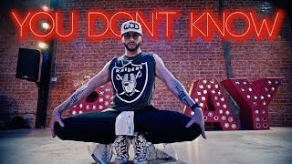 You Don't Know - 702 | Brian Friedman Choreography | Playground LA - RobFish