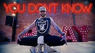 You Don't Know - 702 | Brian Friedman Choreography | Playground LA - RobFish