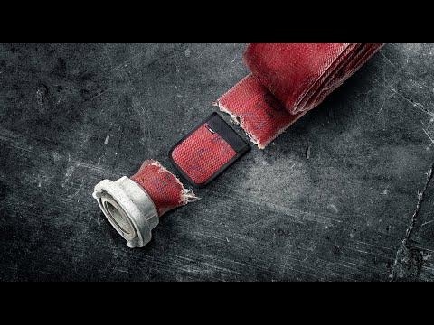 Feuerwear Portemonnaie Fred aus recyceltem Feuerwehrschlauch